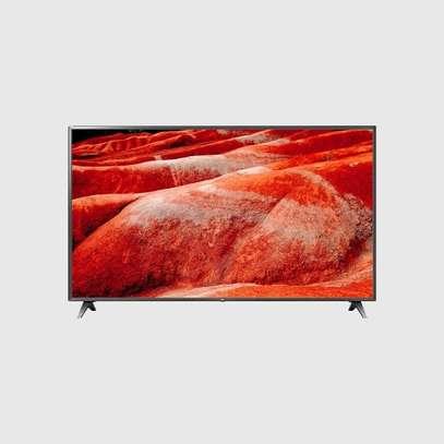 "LG – 43"" LG SMART UHD TV-Black image 1"