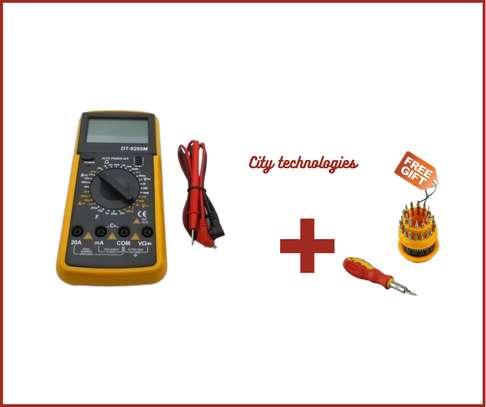 Multimeter AC/DC Ammeter Resistance Capacitance image 1