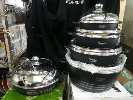 10pc desini nonstick sufuria/Cookware  pot/sufuria image 2