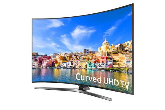 New 65 inch samsung smart curved 4k uhd tv order now image 1