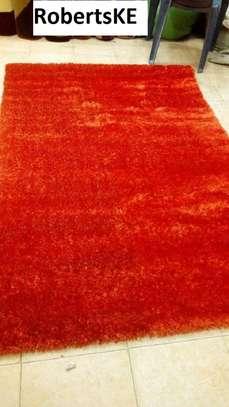 Orange turkish soft Carpet 8*11 image 1