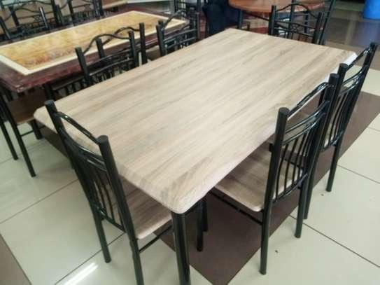 6setaer Wooden Dining Table image 4