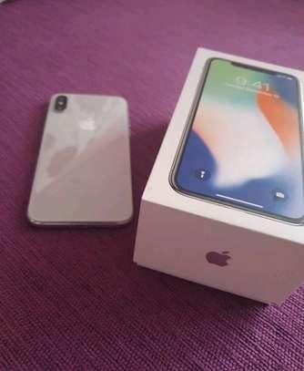 Apple Iphone x [ silver 256 Gigabytes ] image 2
