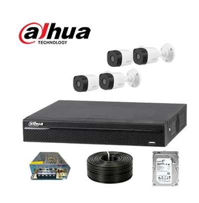 Dahua 4 Outdoor 4 Mega Security Cameras image 1