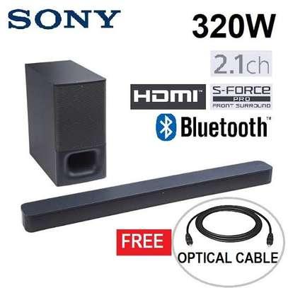 Sony hts-350 sound bar system wireless 320watts Bluetooth image 1