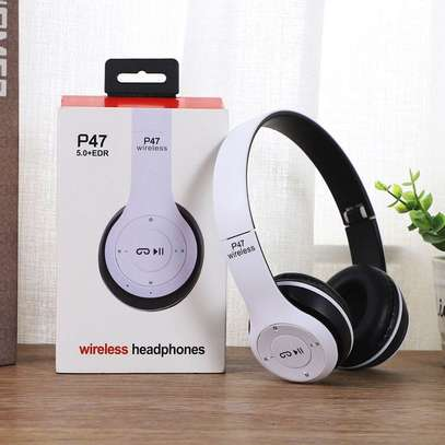 P47 Wireless Headphones Bluetooth Headset image 2