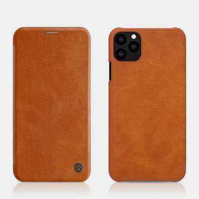 iPhone 11 Pro Max Nillkin Qin Series Leather Case image 2