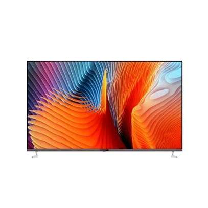Vision Plus 65 4K Frameless Android TV + Free Wall Mount-New Boxed image 1