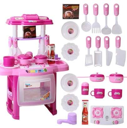 Kids Kitchen Set Toys image 2