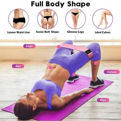 *Booty Bands /Fabric Resistance Glute Bands image 1