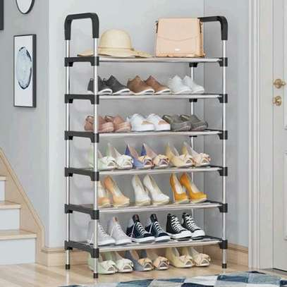 Shoe rack 4 layers image 2