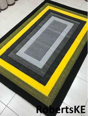 yellow grey carpet image 1
