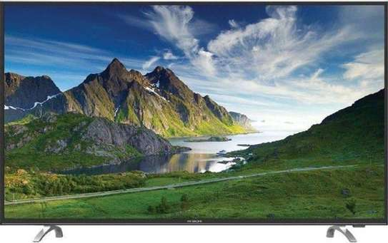 LG LG 49LK6100 - 49 - SMART DIGITAL Full HD LED Digital TV WITH MAGIC REMOTE 2018 MODEL, SILVER FRAME - Black image 1