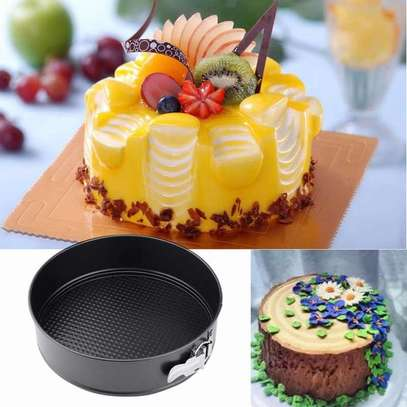 3pcs Non Stick Cake Trays image 1