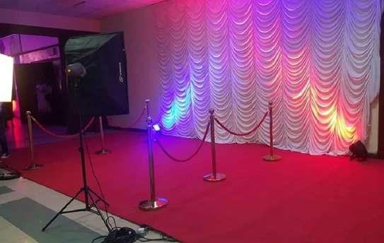 executive run-way red VIP wall to wall carpet image 2