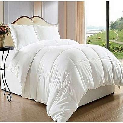 White Duvets with Bed Sheet and A Pair Of Pillow Case image 2