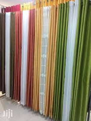 Plain curtains image 1