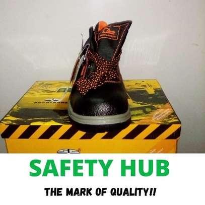 Rocklander industrial safety boots image 2