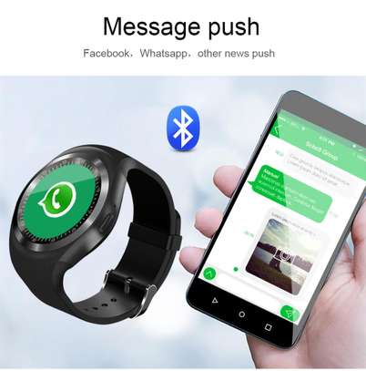 Sports Fitness Bluetooth Smart Watch Pedometer supports sim card image 8