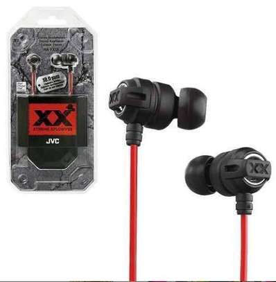 Jvc wall earphones explosive metallic earphones image 1