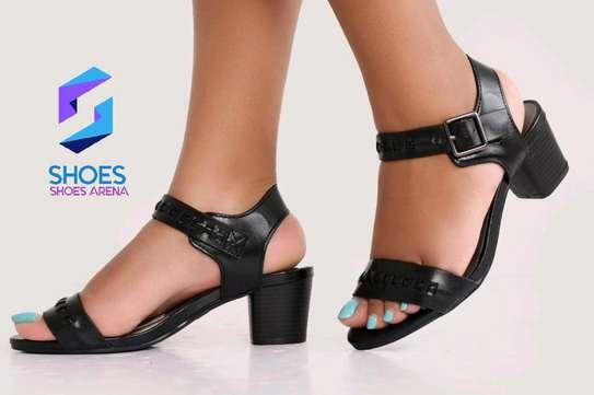 Quality Chunky Heels image 4