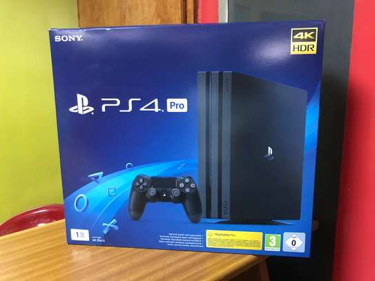 PS4 pro 1tb with paid PlayStation plus image 3