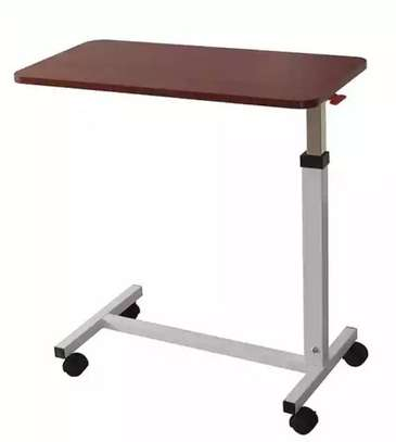 Adjustable Hospital Overbed Table image 1