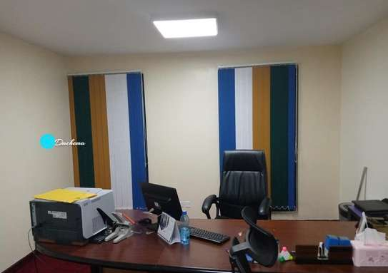 different colored office blinds image 1
