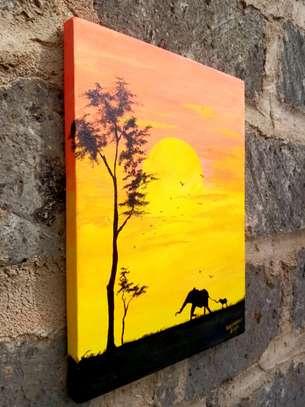 maasai mara sunset image 1