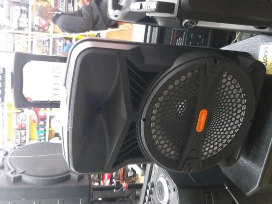 Trolley Portable digital speaker with USB and SD, Mic in image 1