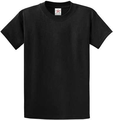 plain round neck  t shirts image 1