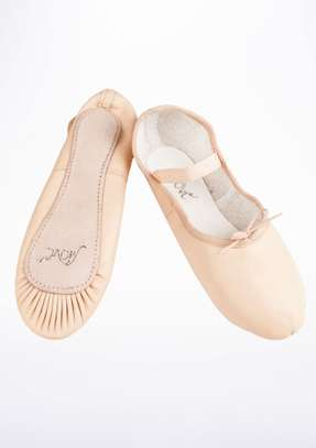 Kids leather ballet dance shoes and tutus image 2