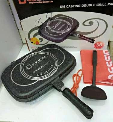 Original Dessine non~stick double grill pan now available image 3