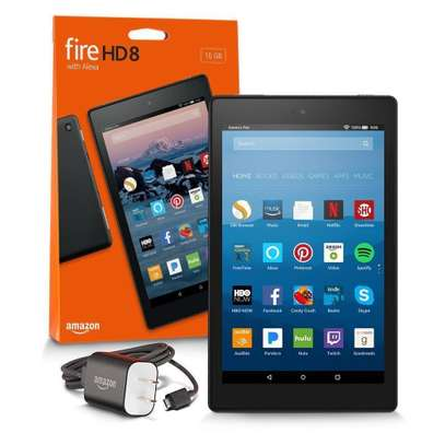 """Brand New Amazon Fire HD 8 Tablet with Alexa, 8"""" HD Display, 16 GB Offer Price image 1"""