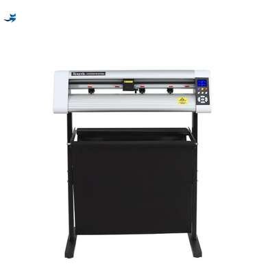vinyl sticker cutting plotter with contour cutting function image 1