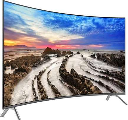 Samsung 55 inches Curved Smart UHD-4K Digital TVs 55RU7300 image 2