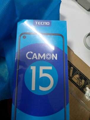 TECNO CAMON 15 PREMIER 6.6 INCHES 64MP + 5MP +2MP CAMERA 6GB RAM 128GB ROM image 1