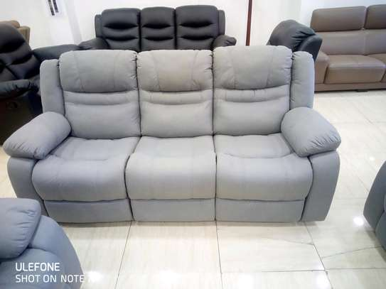 Fabric Recliner Sofas image 4