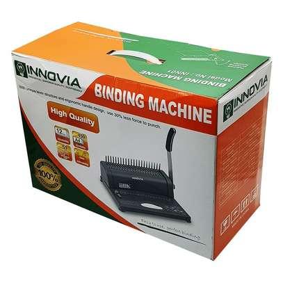 A4 Comb Binder Spiral Binding Machine Innovia image 4