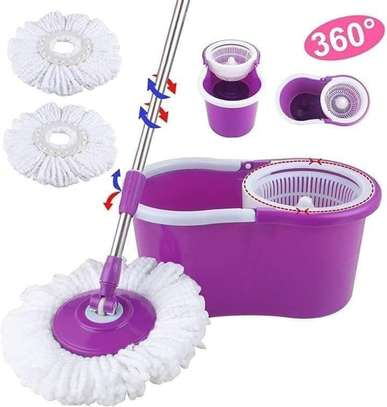 Spin Mop with bucket image 1