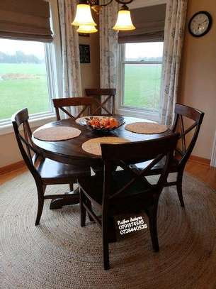 Five seater dining set/dining tables/dining set sale image 1