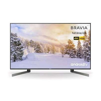 Sony 55X8500G 55 4K HDR Processor X1 Acoustic Multi-Audio Android TV NEW 2019- Black image 1
