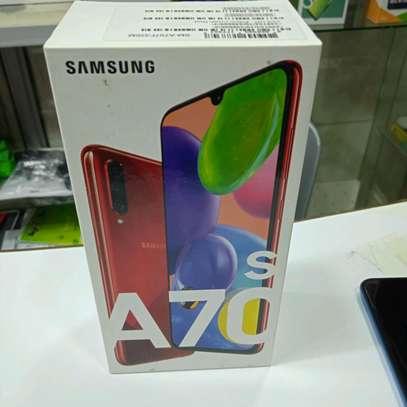 Samsung A70S new 128gb 6gb ram 64mp camera-shop image 1