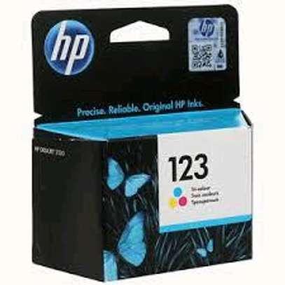 HP 123 inkjet cartridge color image 2