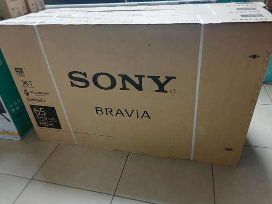 65 Inch sony X8000H android 4k tv image 1