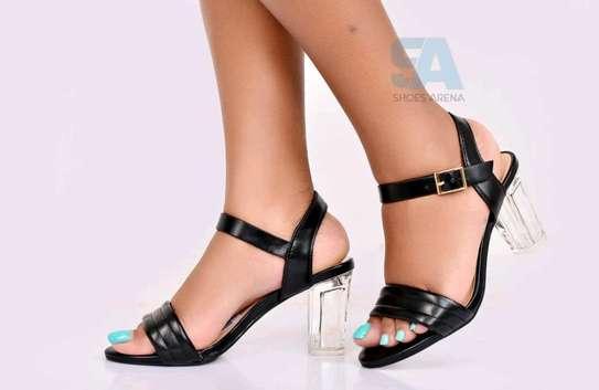 Catchy Chunky heels image 3