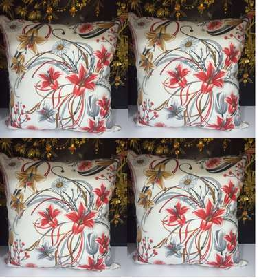 flowered Throw pillows image 1