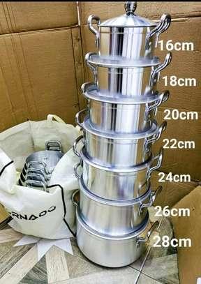 14Pcs Aluminium Sufurias image 1