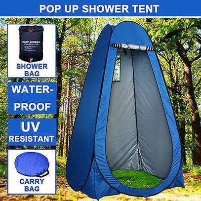 camping showering set , tent+ solar shower. image 3