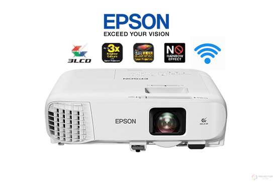 Epson projector for hire 3200/3300 lumens image 1